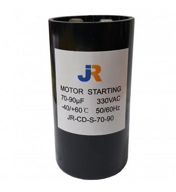 Capacitor de Arranque 330V 70-90 uf - JR