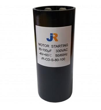 Capacitor de Arranque 330V 80-100 uf - JR