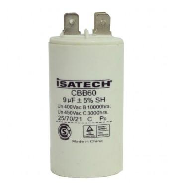 Capacitor de Marcha 09 uf - ISATECH