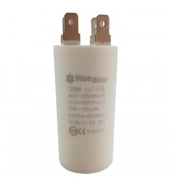 Capacitor de Marcha 1 uf 450VCA - Bluestar