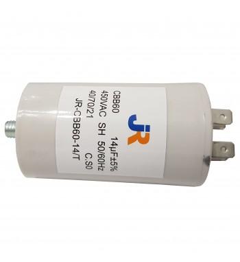Capacitor de Marcha 14 uf C/ tornillo - JR
