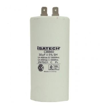 Capacitor de Marcha 30 uf - ISATECH