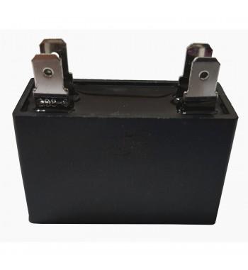 Capacitor de Marcha cuadrado 2 uf 450 VAC - JR