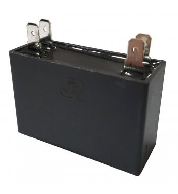 Capacitor de Marcha cuadrado 4 uf 450 VAC - JR