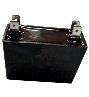 Capacitor de Marcha cuadrado 5 uf - JR