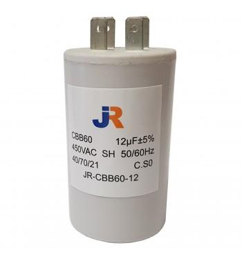 Capacitor de Marcha Plastico 12 uf - JR