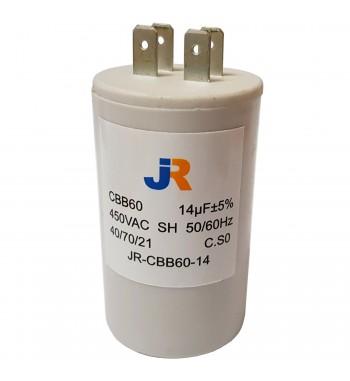 Capacitor de Marcha Plastico 14 uf - JR