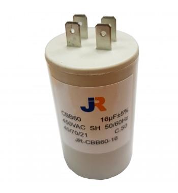 Capacitor de Marcha Plastico 16 uf - JR