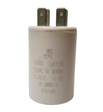 Capacitor de Marcha Plastico 3 uf - JR