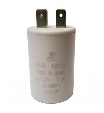 Capacitor de Marcha Plastico 4 uf - JR