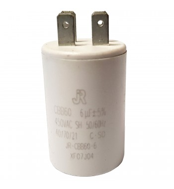 Capacitor de Marcha Plastico 6 uf - JR