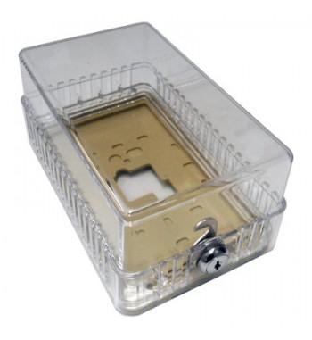 Caja Protectora de Termostato con llave Rectangular
