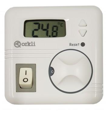 Termostato de Ambiente Digital Frio Calor 10(3)A a 250V...