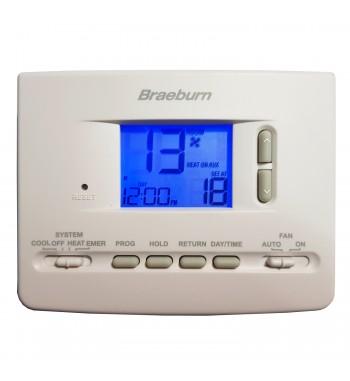 Termostato de Ambiente Programable 2H/1C Braeburn 2220NC