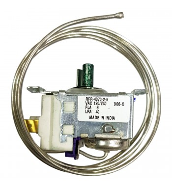 Termostato Refrigeracion Heladera 1 Caña Bulbo 100Cm...