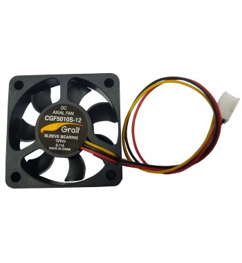 "Turbina Cooler Extractor 2"" 12v 50x50x10mm Buje Control..."