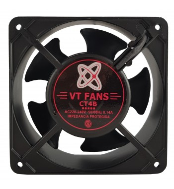 "Turbina Cooler Extractor 4"" 220v Buje Ancho 38mm VT FANS..."