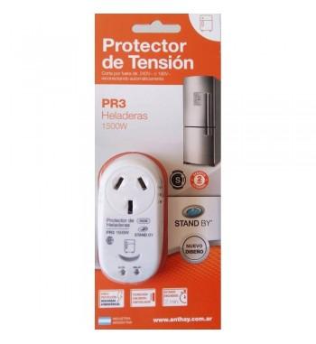 Protector de tension 1500W Heladeras Freezer Cavas PR3