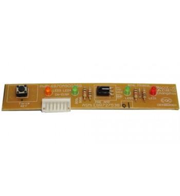 Plaqueta display Evaporadora Piso Techo LG 3/5TR EBR72753801
