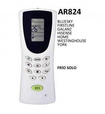 Control Remoto Multicodigo AR824
