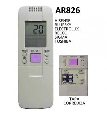 Control Remoto Multicodigo AR826