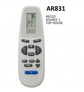 Control Remoto Multicodigo AR831