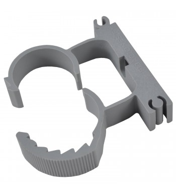 Abrazadera Regulable De Nylon Para 25 a 32mm Gris Clampy PY