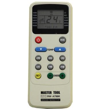 Control Remoto Universal Para Aire Acondicionado RW-A799K