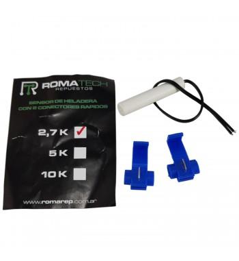 Sensor de Heladera 2.7K Con 2 Contactores Rapidos...