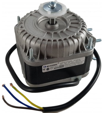 Motor Forzador Heladera Comercial 73W Pala 254mm 220v...