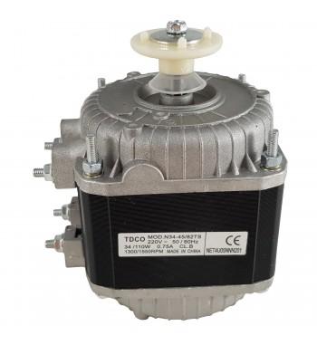 Motor Forzador Ventilador Heladera Comercial De 34/110W...