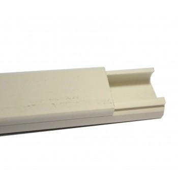 Cable Canal 20 x 10 mm con adhesivo Tira de 2 metros