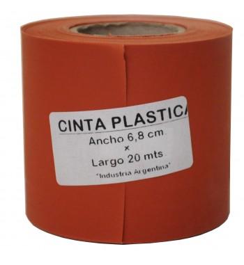 Cinta Plastica MM - Teja Rojo