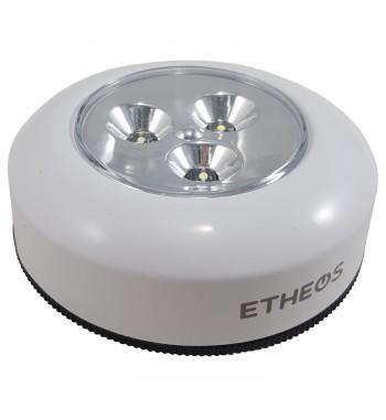 Luz de Toque 3 LED a Pila Luz Fria Etheos LDTE