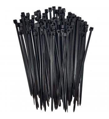 Precintos Bolsa Por 100 Unidades 100mm X 2,5mm Negro BAROVO