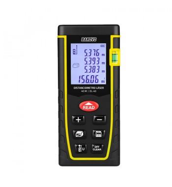 Medidor De Distancia Laser Profesional Barovo 40Mtrs DL-40
