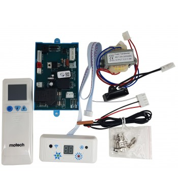 Plaqueta Control Universal Aire Acondicionado + CAPACITOR...