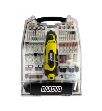 Mini Torno con 234 piezas Barovo MT234