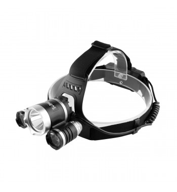 Linterna de cabeza COB recargable LU-C4