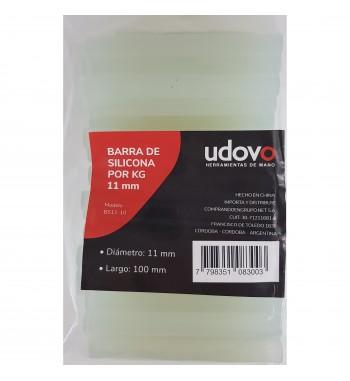 Barra de Adhesivo silicona Transparente UDOVO (11mm x...