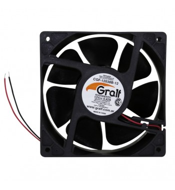 "Turbina Cooler 12v Extractor 4"" 120x120x38mm Ruleman..."