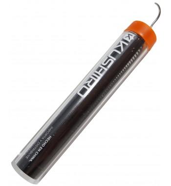 ,Tubo de Estaño 1,,2mm 60% 40% Plomo 17gr Kushiro,