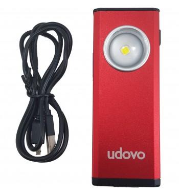 Linterna de trabajo con Bateria de Litio Recargable Udovo