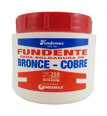 Fundente en Polvo para Soldadura de Bronce Cobre FUNDEMAX...