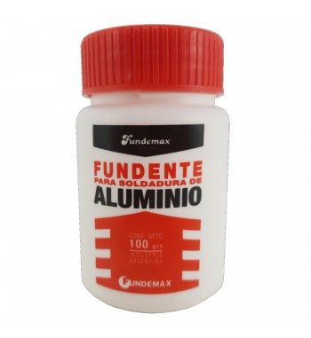 Fundente en Polvo para Soldadura de Aluminio FUNDEMAX 100grs