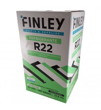 Garrafa de Gas R22 Finley Refrigerante 13,6Kg