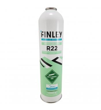 Garrafa de Gas R22 FINLEY Refrigerante 1Kg