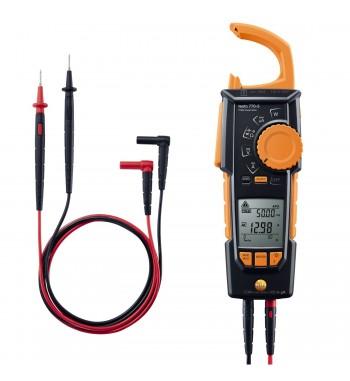 Pinza Amperometrica CA CC TRMS ºC Bluetooth Testo 770-3