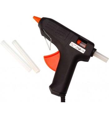 Pistola Encoladora Silicona Eléctrica Grande Barras De 11mm