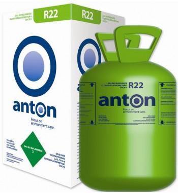 Garrafa de Gas R22 Anton Refrigerante por 13,600 Kg.